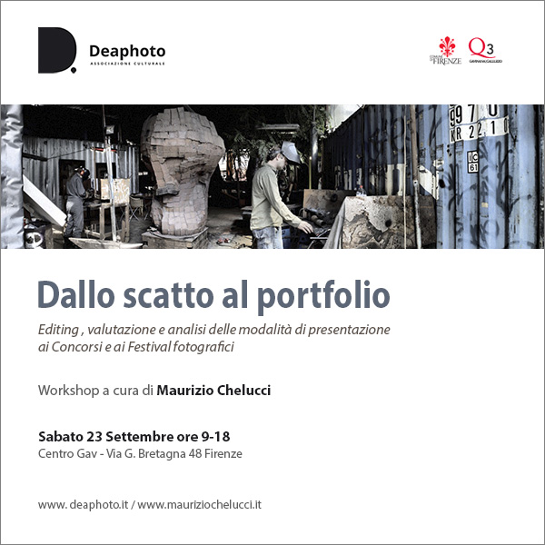 workshop dallo scatto al portfolio deaphoto