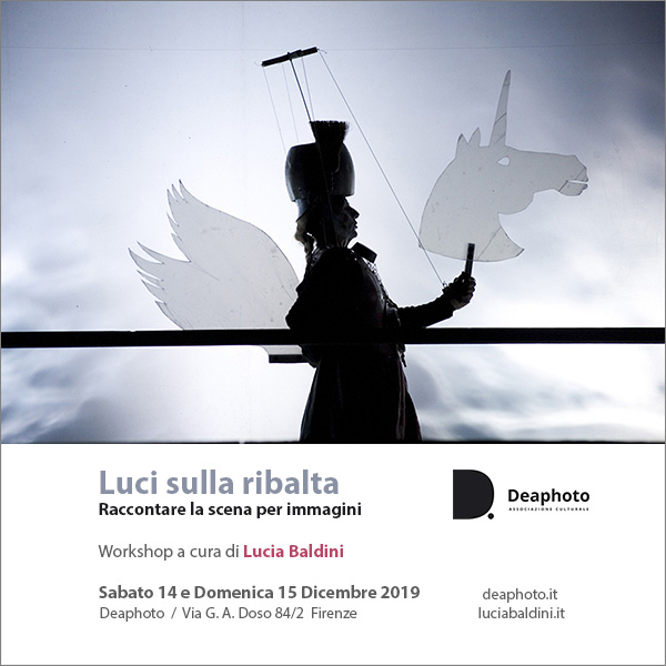 Workshop Luci sulla ribalta Deaphoto Firenze