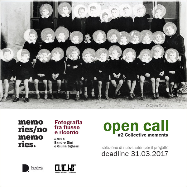 Open call Memories / No Memories - #2 Collective moments