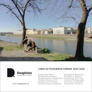 Corsi di Fotografia Deaphoto Firenze 2019-2020