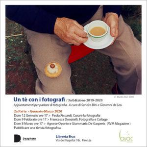 Un tè con i fotografi