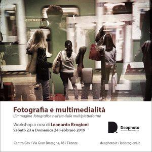 workshop fotografia e multimedialità deaphoto firenze