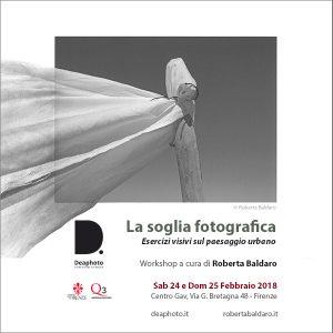 workshop la soglia fotografica deaphoto firenze