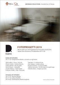 Fotoprogetti 2019 Deaphoto Firenze