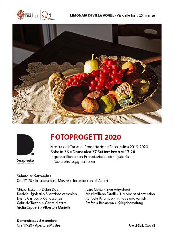 Fotoprogetti 2020 Deaphoto Firenze