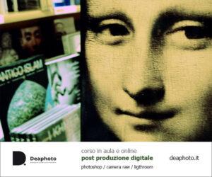 Corso di Post Produzione Digitale Deaphoto