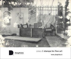 Corso di Stampa bn fine art da negativo Deaphoto Firenze
