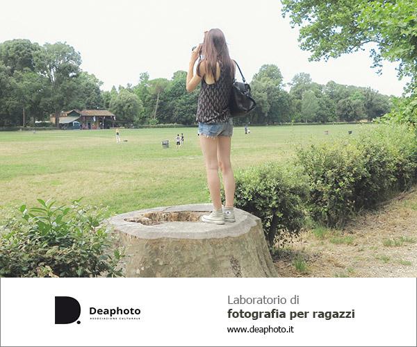 Laboratorio di fotografia per ragazzi Deaphoto Firenze