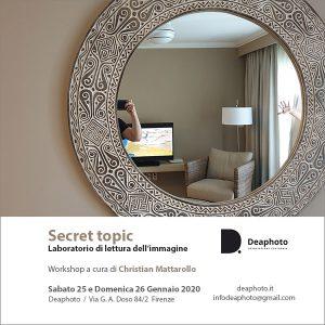 Workshop Secret topic Deaphoto Firenze