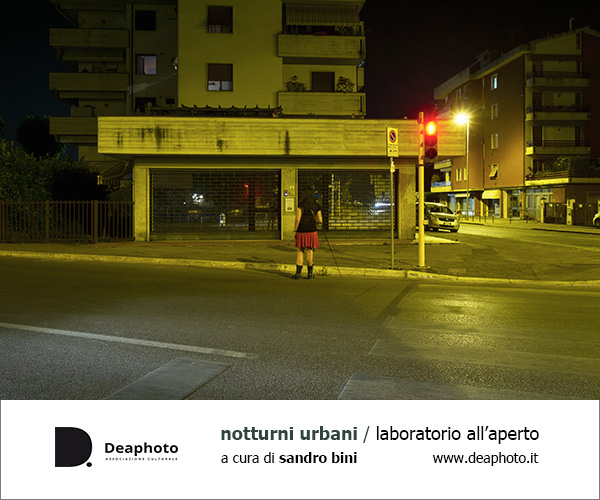Notturni Urbani laboratorio all'aperto Deaphoto