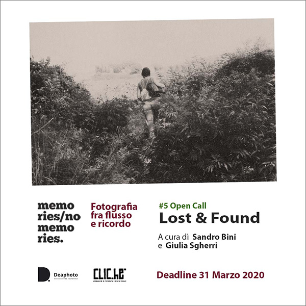 #5 Open call Memories / No Memories. Lost & Found