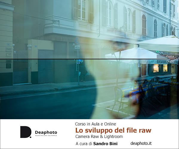 Sviluppo file raw deaphoto